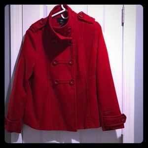 Jackets & Blazers - ✨Price Drop! ✨ Red Pea coat
